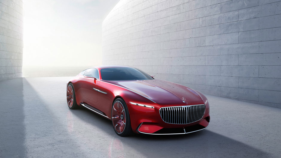 Vision Mercedes Maybach 6 Concept Car Mercedes Benz In Hagerstown