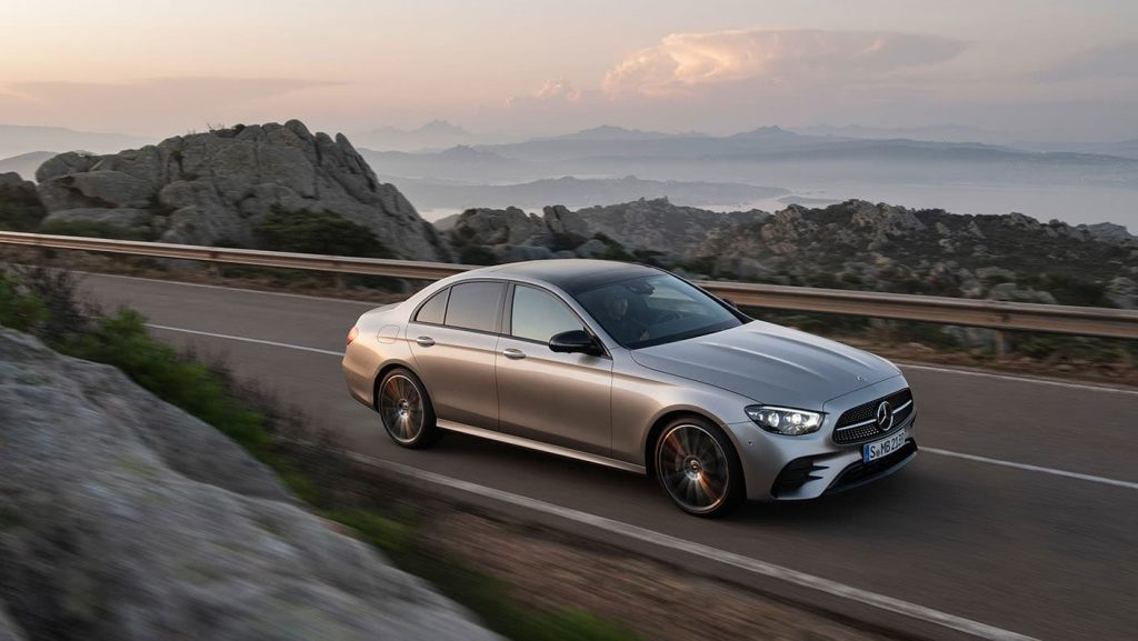 first look - 2021 mercedes-amg® e-class coupe - mercedes